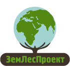 Логотип ЗемЛес светлый